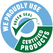 We Clean Green and Use Green Seal Certified Cleaning Products in Los Angeles South Bay